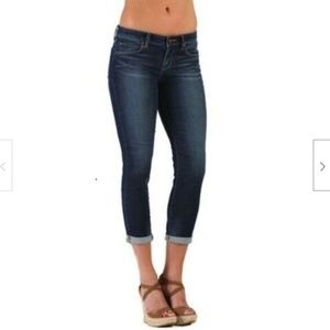 Articles of Society Karen Crop Mid Rise Jeans